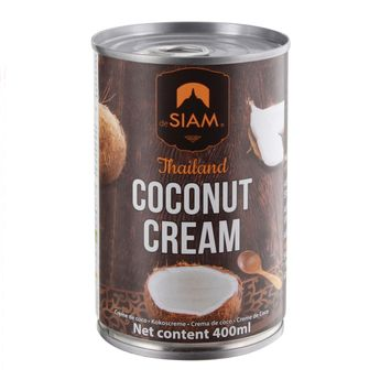 Achat en ligne Crème de coco 400ml - De Siam