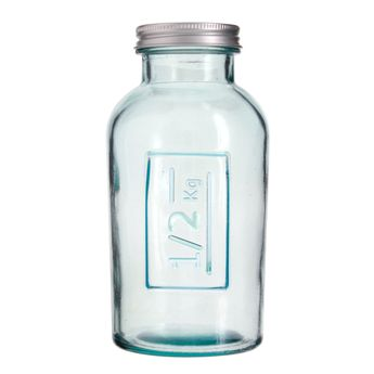Achat en ligne Boîte de conservation en verre recyclé 0.5 L - Vidrios
