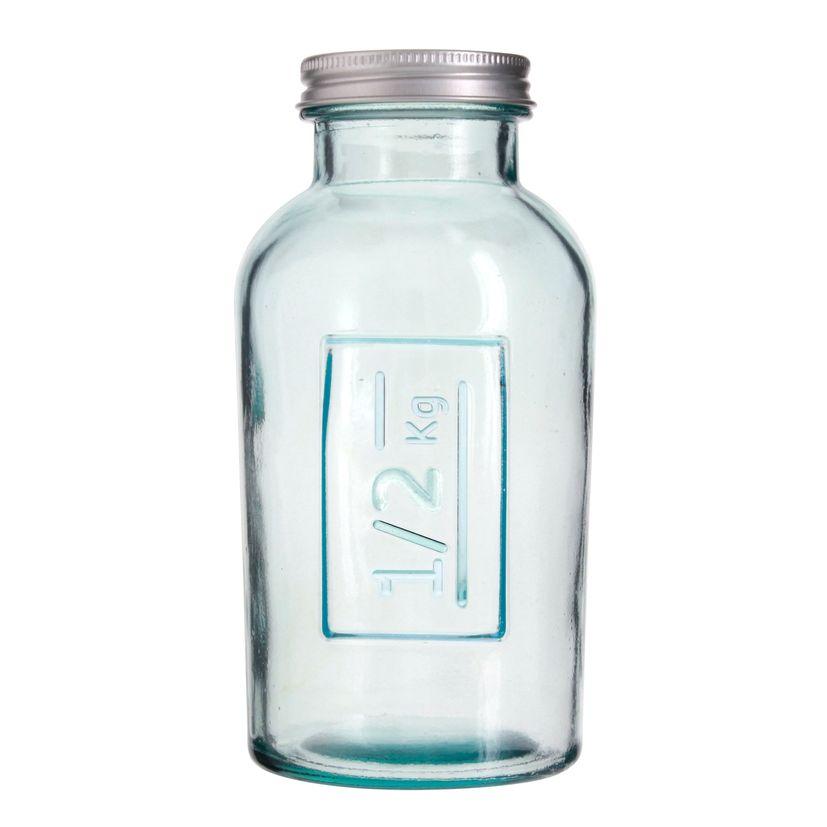 Boîte de conservation en verre recyclé 0.5 L - Vidrios
