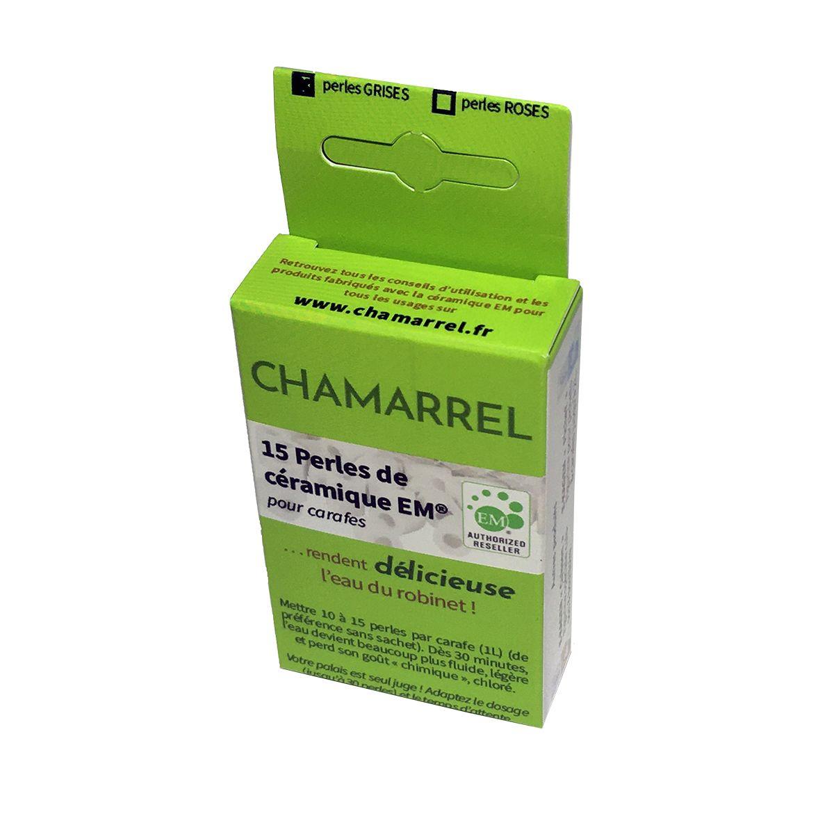 15 perles de céramique EM spécial carafe - Chamarrel