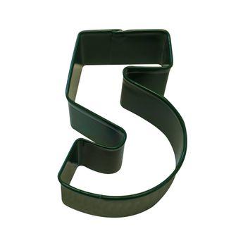 Achat en ligne Emporte pièce vert chiffre 5 - Anniversary House