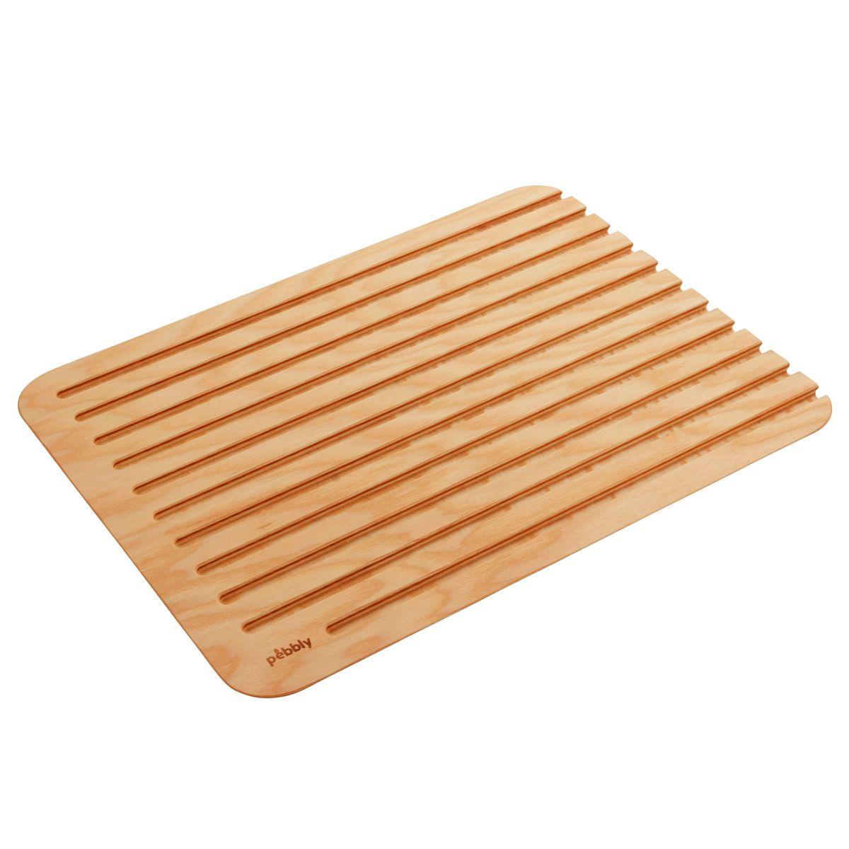 Planche à découper en bois XL 50 x 40 cm - Pebbly