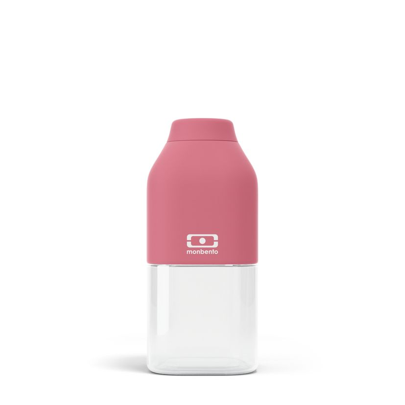 Bouteille nomade MB positive S rose blush 33 cl 6 x 13.7 cm - Monbento