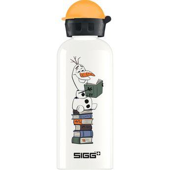 Petite bouteille Olaf blanche et orange 60 cl 21.5 x 7.1 cm - Sigg