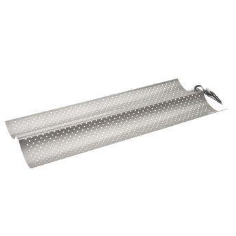 Achat en ligne Plaque 2 baguettes en acier antiadhérent gris 16 x 38 cm - Ibili