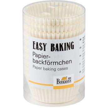 Achat en ligne 200 caissettes pour muffins et cupcakes blanches 7 cm - Birkmann