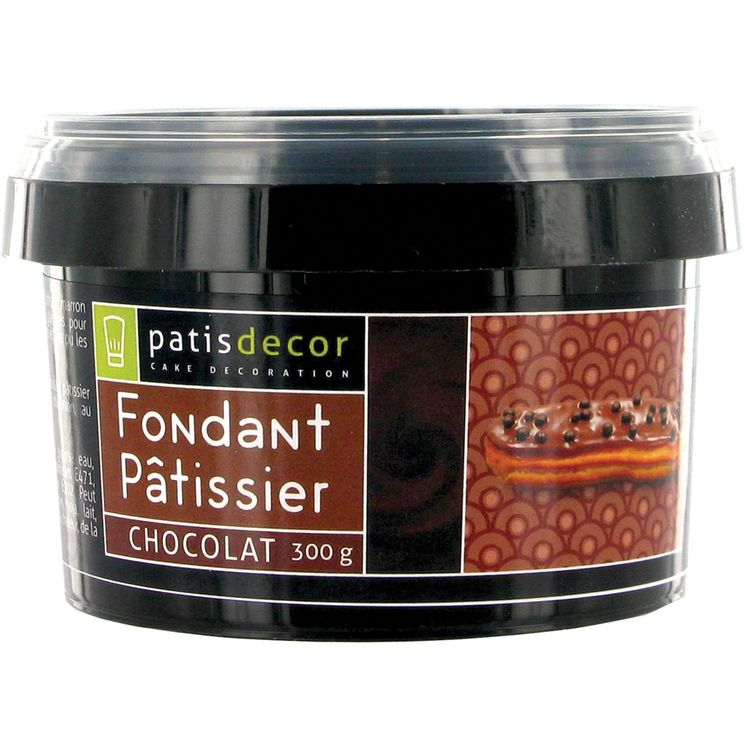Fondant chocolat 300 gr - Patisdecor