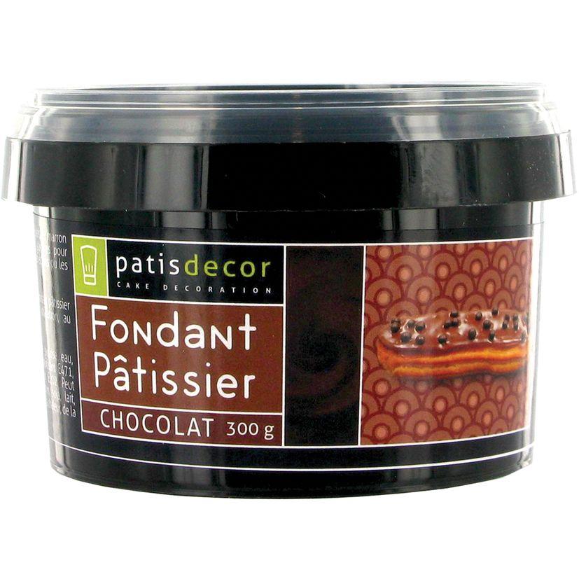 Fondant pâtissier chocolat 300 gr - Patisdecor