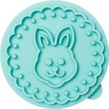 Tampon à biscuits lapin 7cm - Birkmann