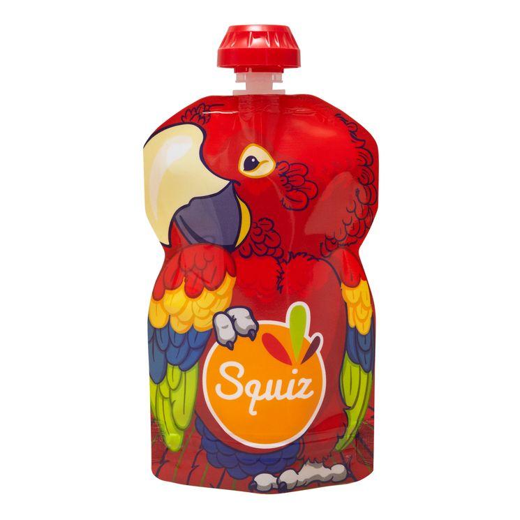 Gourde réutilisable 130 ml Perroquet - Squiz