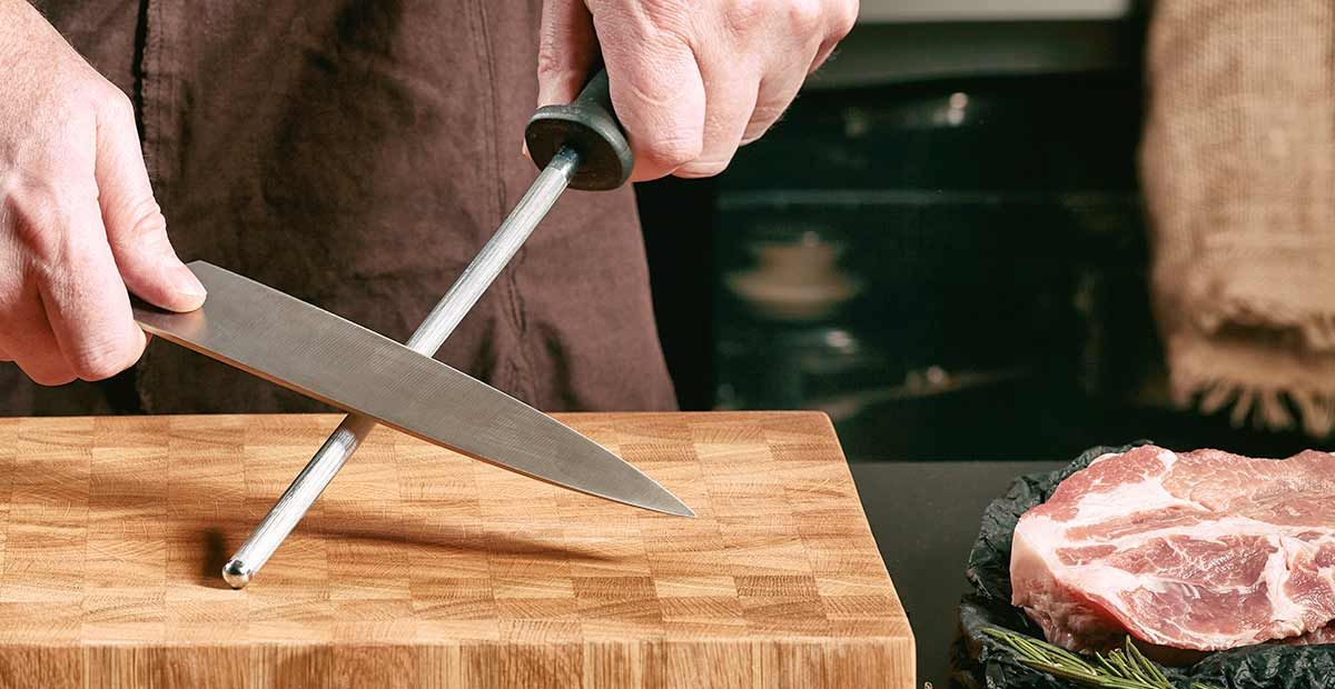 J´entretiens mes couteaux