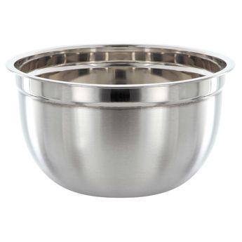 Achat en ligne Bol de préparation en acier inoxydable gris 14 x 26 cm - Ibili