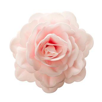 Rose rose en azyme 12.5 cm - Dekora