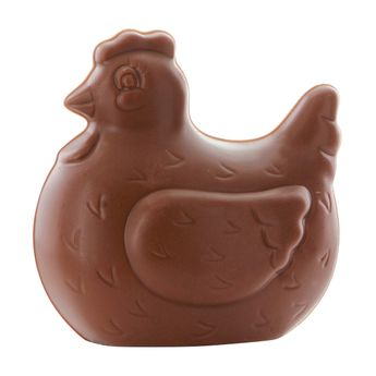 Poule de Pâques chocolat au lait 50gr - Monbana