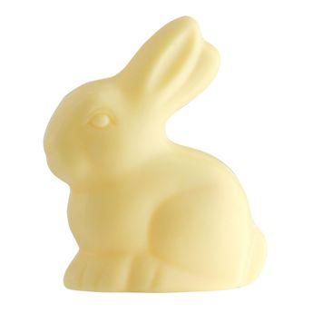 Achat en ligne Lapin de Pâques chocolat blanc 70gr - Monbana