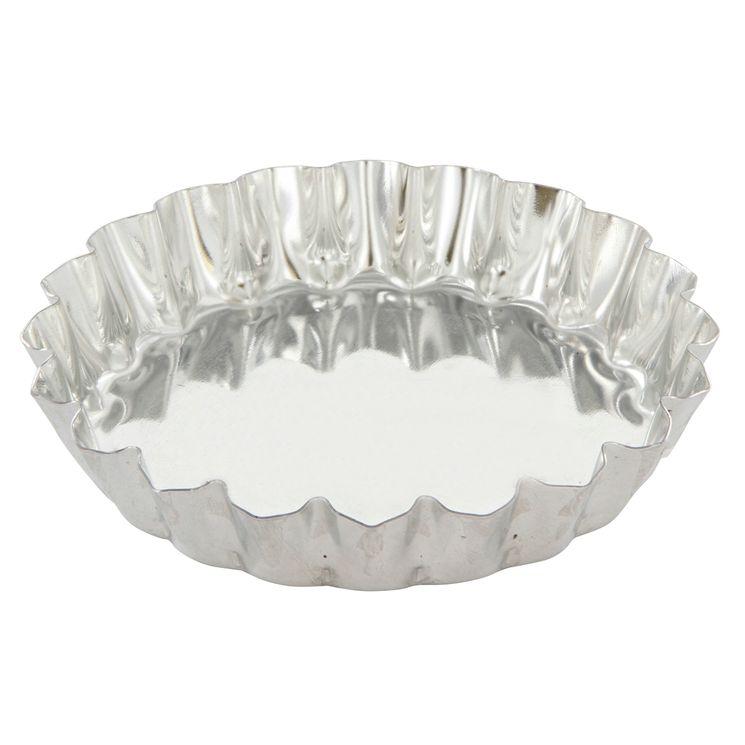Moule à tartelette ronde en fer blanc 10 cm - Alice Délice