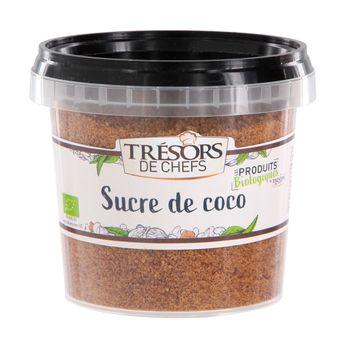 Sucre fleur de Coco bio 200 gr - Trésors de Chefs