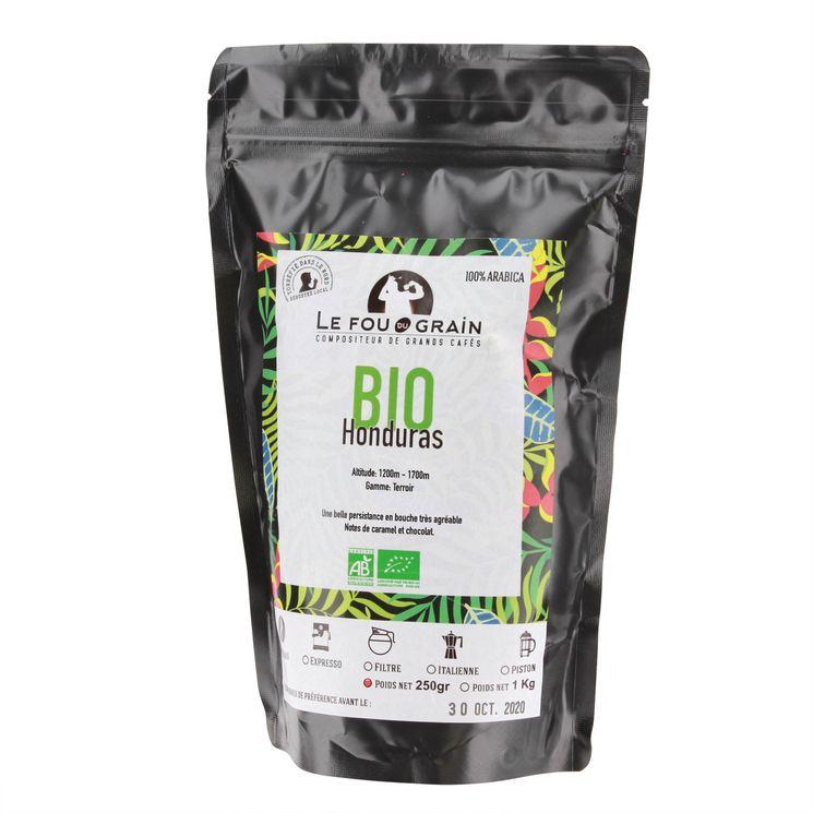 Café en grains Honduras bio 250gr - Le Fou du Grain