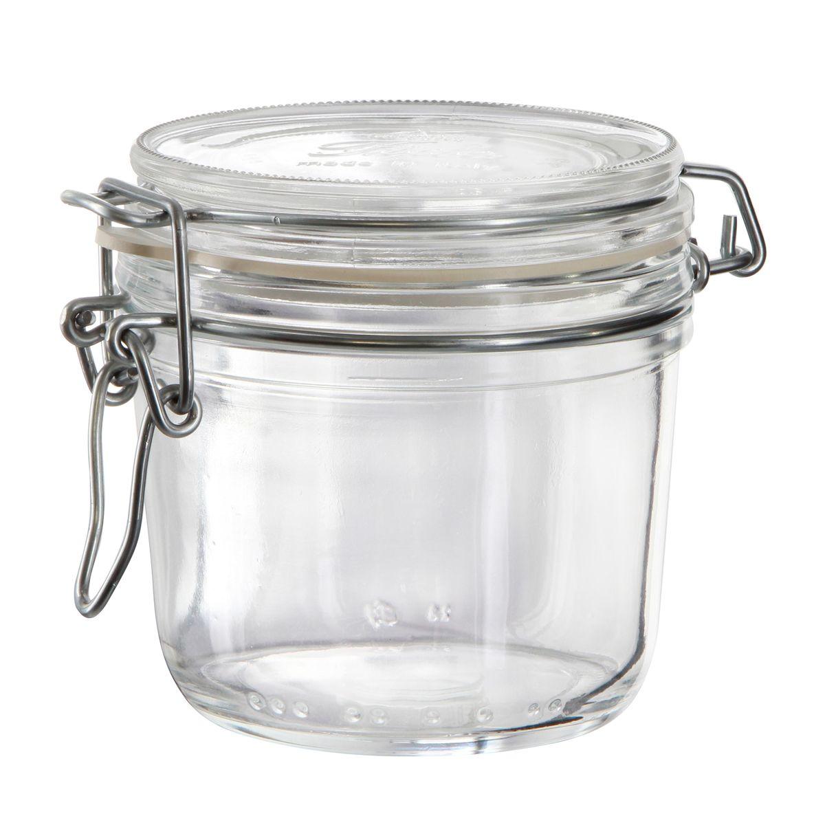 Bocal de conservation hermétique en verre Fido 0.35L - Bormioli