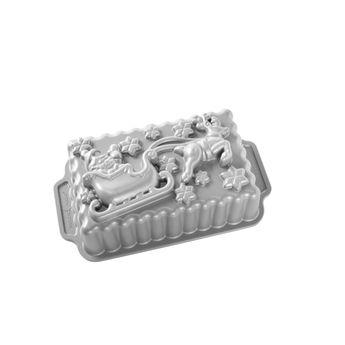 Achat en ligne Moule traineau du père Noël en fonte d´aluminium 25 cm - Nordicware