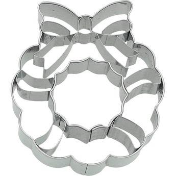 Achat en ligne Emporte-pièce en inox couronne de Noël 7.5 cm - Birkmann