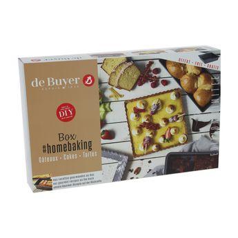 Achat en ligne Coffret fait-maison : 1 moule à cake. 1 moule à tarte et 1 moule à gâteau - De Buyer