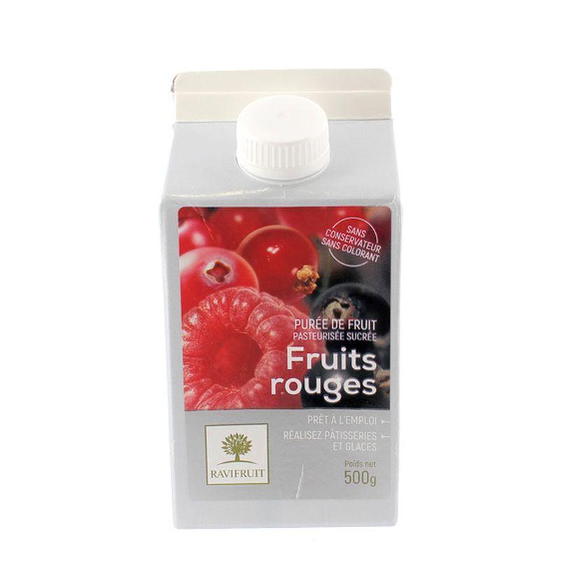 Purée de fruits rouges 500 ml - Ravifruit