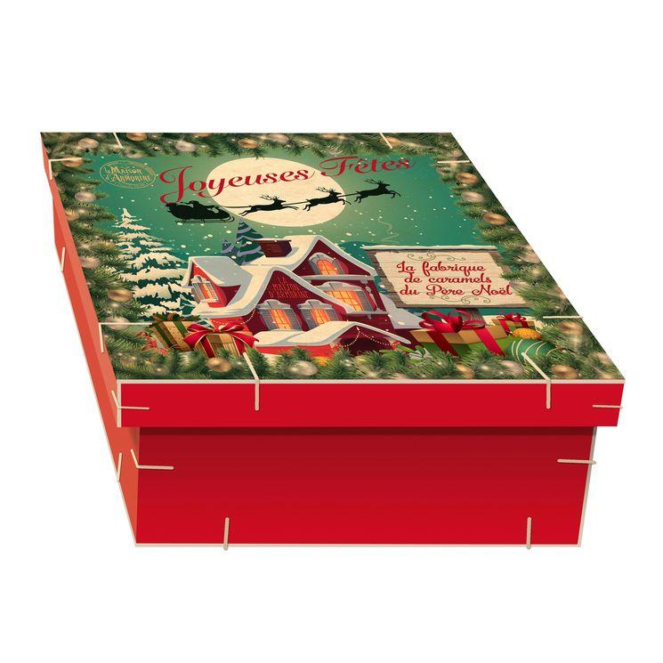 Le coffret de Noël la fabrique de caramels 315g - La Maison d'Armorine
