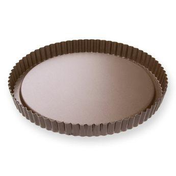 Achat en ligne Moule à tarte fruits frais en métal anti adhérent 8/10 parts 28 cm - Alice Délice