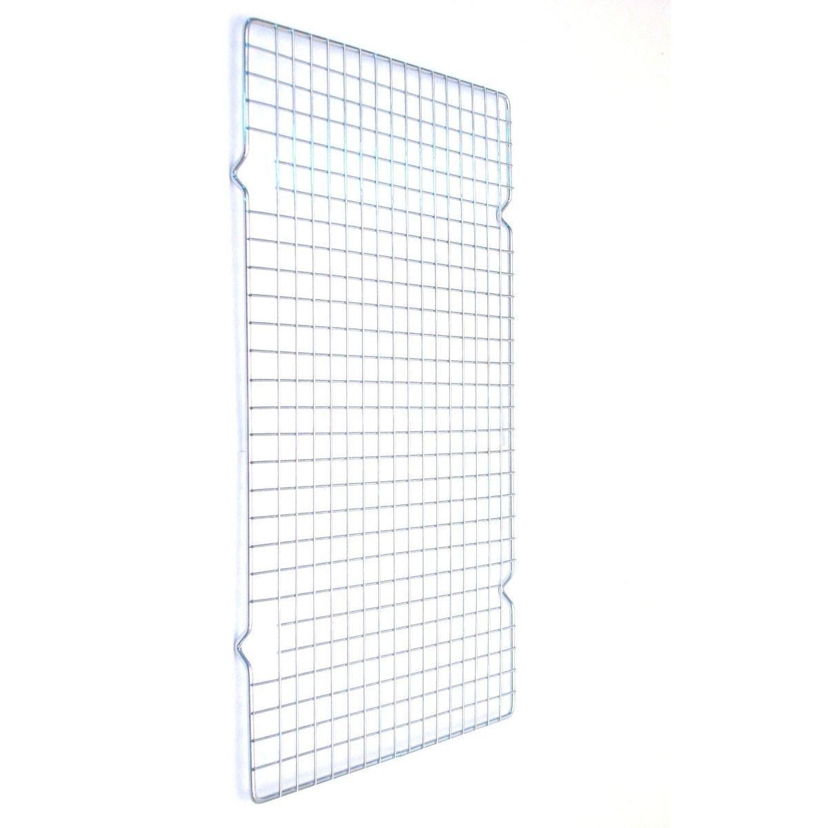 Grille de refroidissement rectangulaire en métal chrome 25 x 40 cm - Roger Orfevre