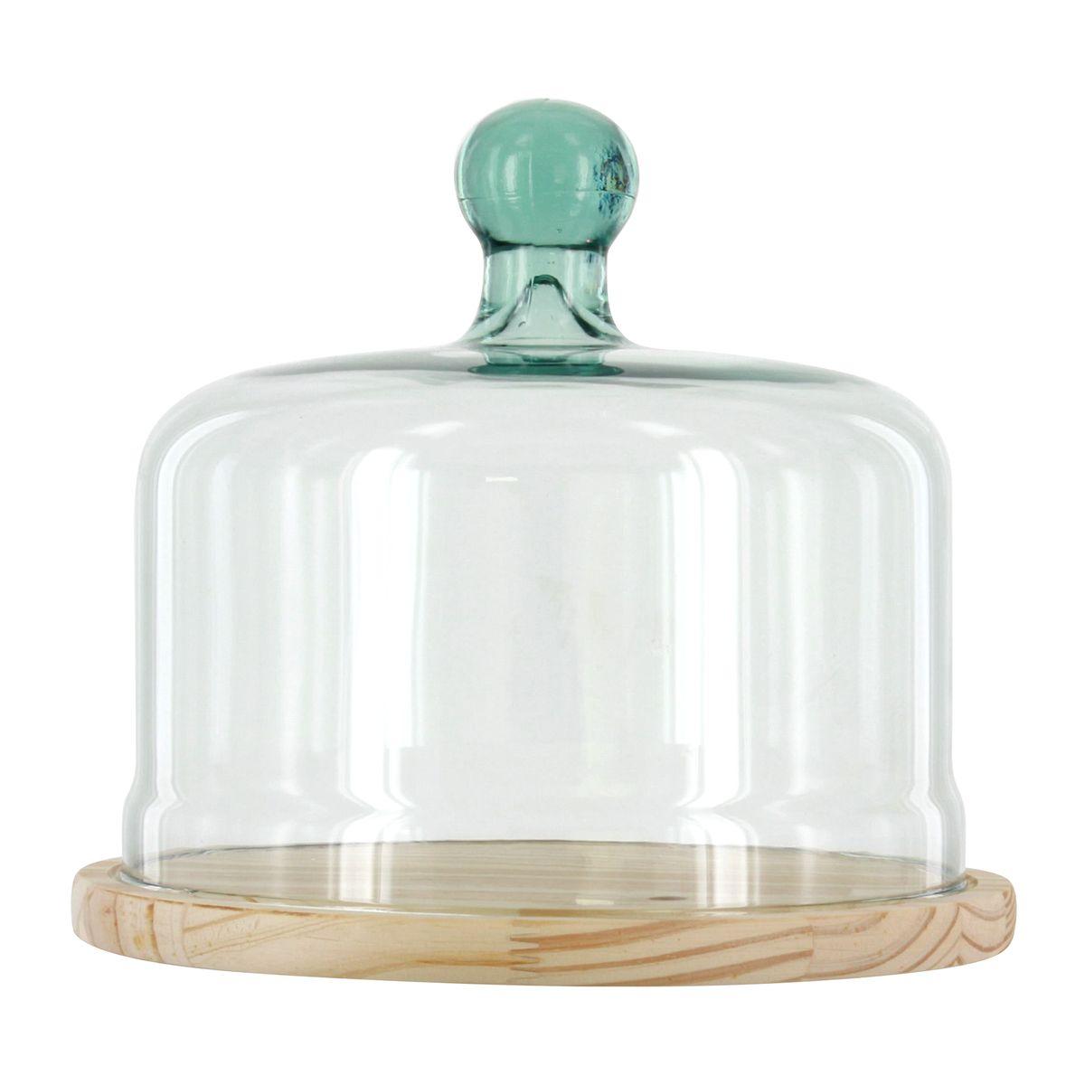 Cloche à fromage en verre recyclé 22 cm - Vidrios