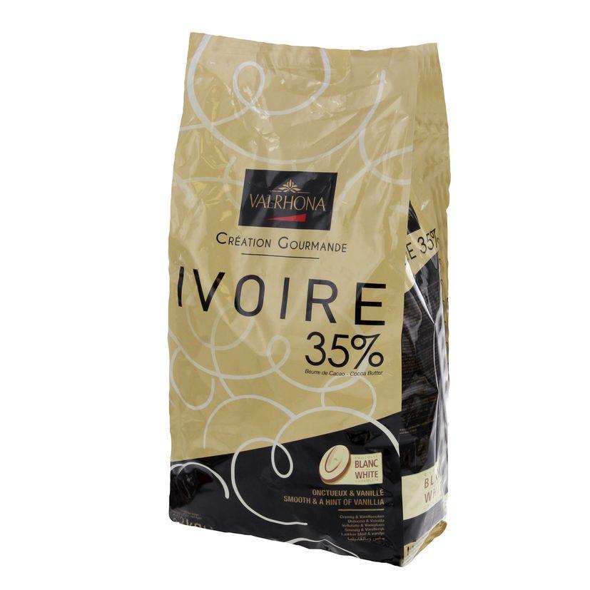 Vrac choco blanc Ivoire 100gr