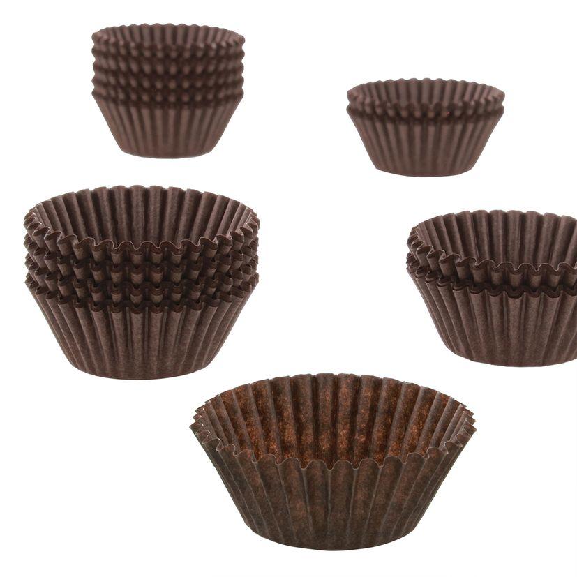 Caissettes en papier pour chocolats et truffes de Noël - Birkmann