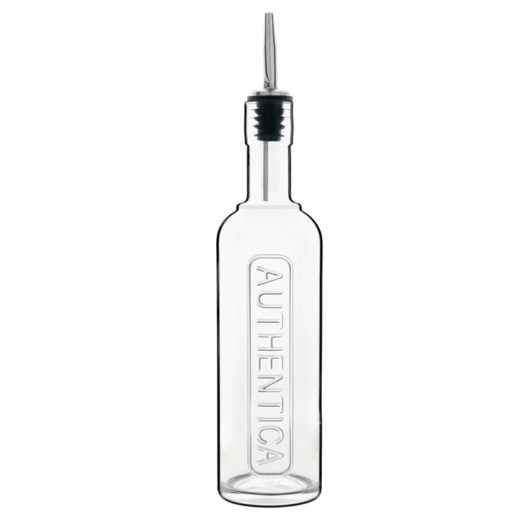Bouteille d´huile en verre avec bec verseur 500 ml - Bormioli Luigi