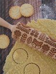 Rouleau à empreintes folk finlandais 25 cm - Alice Délice