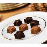 Moule 15 chocolats étoiles de Noël en silicone 11 x 24 cm - Silikomart