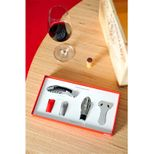 Coffret accessoires vin Chef Sommelier & Co - L´atelier du vin