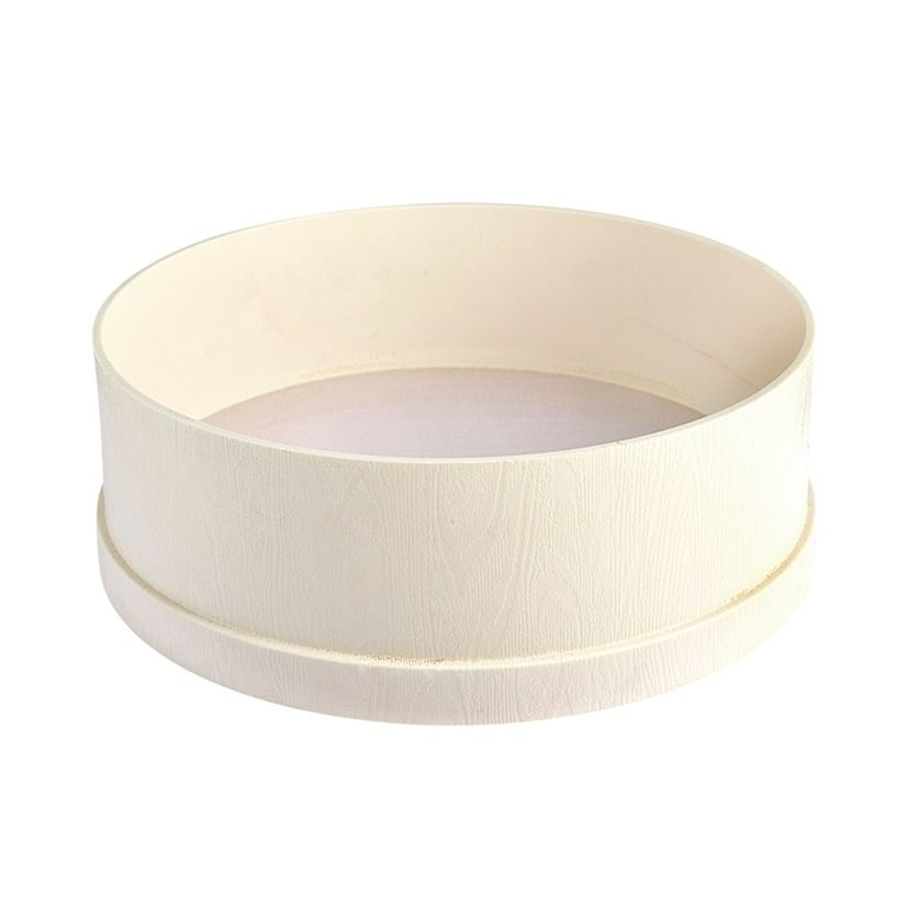 Tamis en nylon blanc 24 cm - Cosmoplast