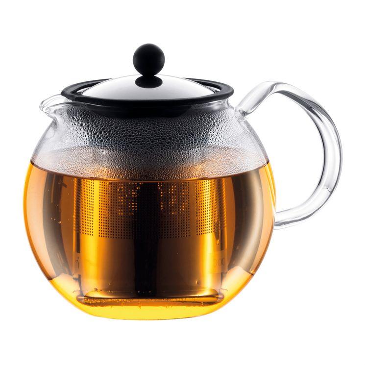 Théière en verre Assam 1.5L filtre inox - Bodum