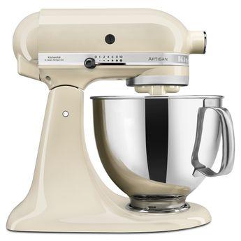 Achat en ligne Robot pâtissier artisan crème 5KSM175PS 4.8 l - Kitchenaid
