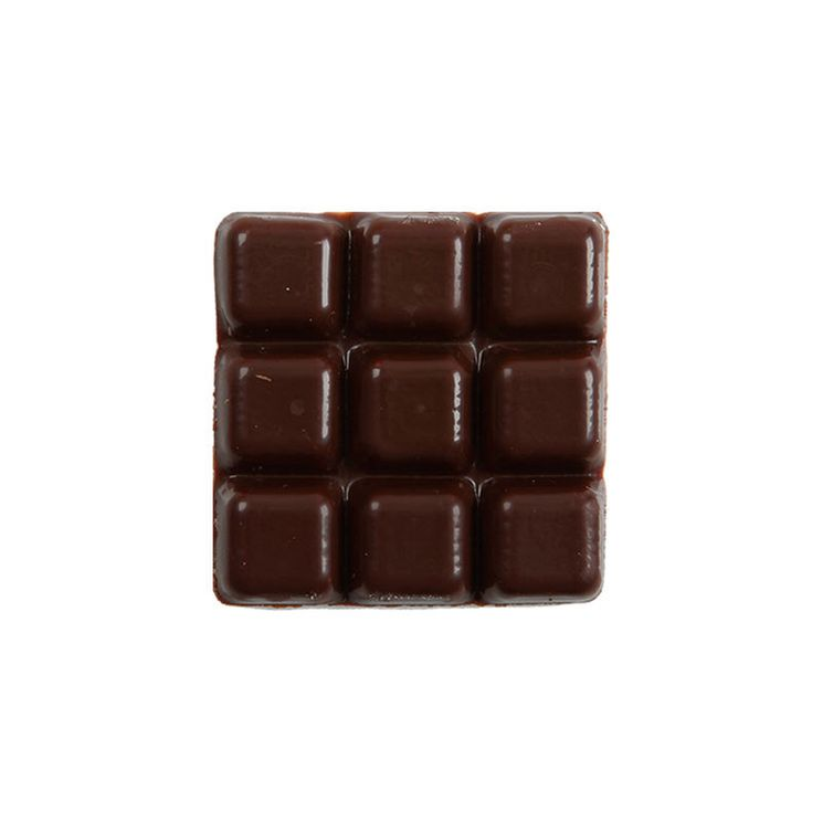 Décor en chocolat : 20 mini tablettes en chocolat noir
