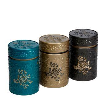 Achat en ligne Boite à thé en fer blanc Yumiko - Eigenart