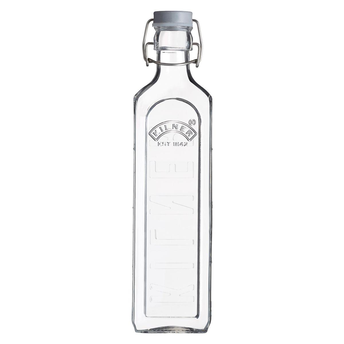 Bouteille en verre avec fermeture clip 100cl - Kilner