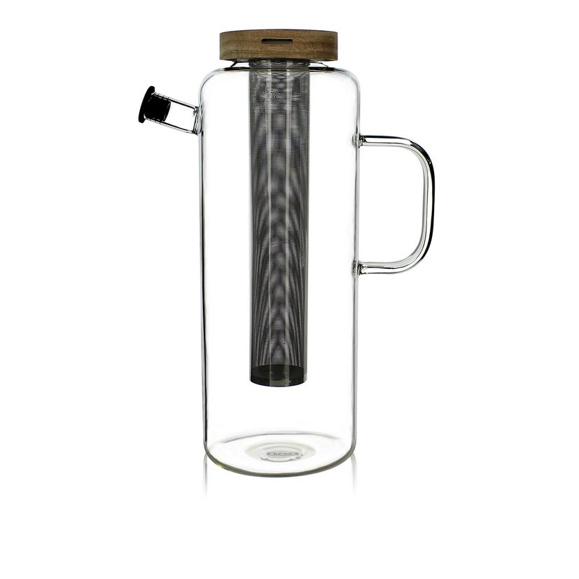 Carafe en verre avec infuseur 1,5L - Ogo