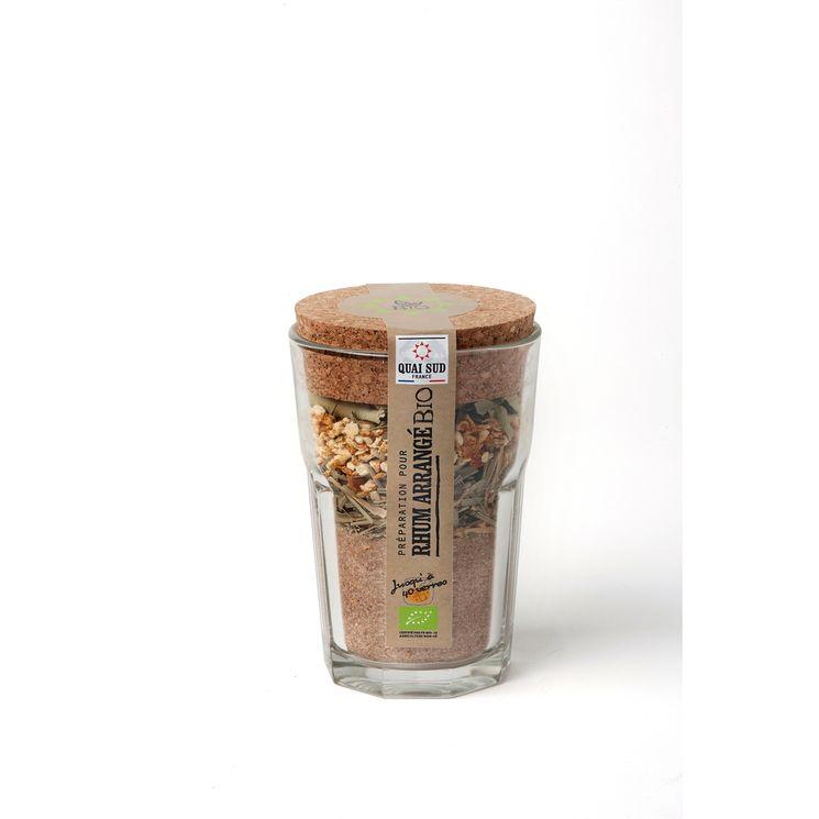 Mélange bio pour rhum arrangé en verre à mojito 160g - Quai Sud