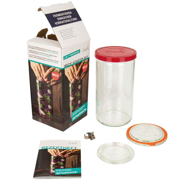 Kit de fermentation 1.6 l - Weck