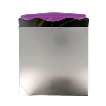 Achat en ligne Pelle à gâteau en inox avec poignée anti dérapante 20 x 20 cm - Patisdecor