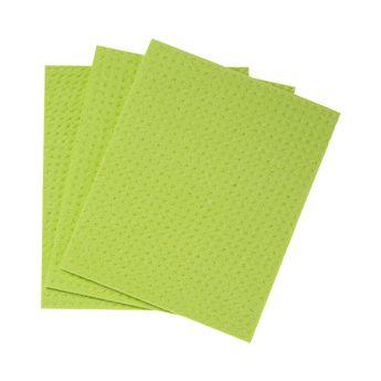 Achat en ligne Lavettes vaisselle x3 pcs cellulose et coton - Mr Eco