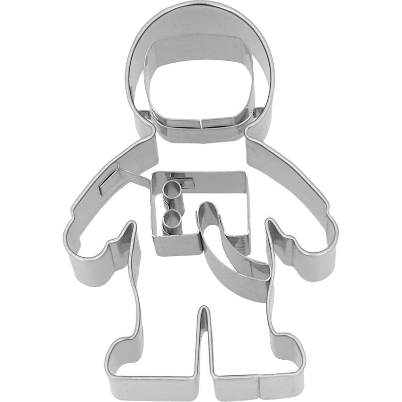 Emporte-pièce en inox astronaute 8 cm - Birkmann