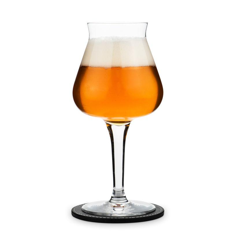 """Coffret 2 verres à bières """"Arômes et Parfums"""" - Peugeot"""